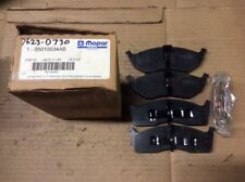 New Factory OEM Mopar Disc Brake Pad Pads Front 05010034AB
