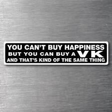 Buy a VK sticker quality 10yr water/fade proof vinyl holden hsv monaro V8