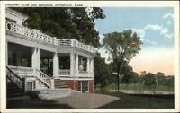 Pittsfield MA Country Club & Grounds c1920 Postcard
