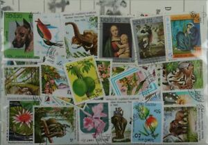 Laos 50 Stamps (913)