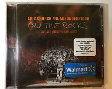 ERIC CHURCH Mr. Misunderstood On The Rocks CD 2016 WALMART EXCLUSIVE New Sealed