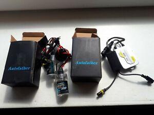 AutoFather HID Headlight Conversion Kit - New Unused