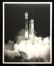 USAF DELTA II  LAUNCHING FROM PAD 17-A SPECIAL INTEREST B & W PHOTO PL89-11214