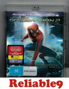 Spider-Man 2 Rise of electro Limited 3D Buray+Bluray+3D cover All region-2014AUS