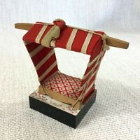 Vintage Japanese Norimono Palanquin and Display Stand HINAMATSURI Doll Day