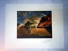 Salvador Dali Litografia 50 x 65 Bfk Rives Timbro a secco Firmata a Matita D270