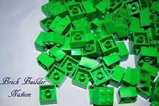 ☀️NEW Lego GREEN 2x2 Brick bulk lot Parts pieces block Bricks Legos #3003 2 x 2