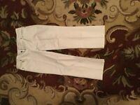 lilly pulitzer Capri White Pants Jeans Size 6