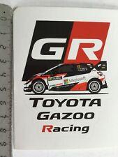 Sticker / Aufkleber, Toyota Yaris WRC, Gazoo Racing, S.Ogier