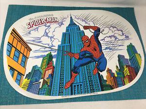the amazing Spider-Man 1978 marvel comics place mat- vinyl NM condition