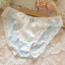 1Pc Women Girls Lovely Briefs Lace Beads Bow Panties Mid-rise Brief Underwear