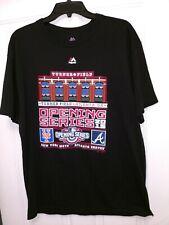 MLB Atlanta Braves Majestic Turner Field Opening Series 2015 T Shirt Men's Large