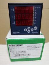 Schneider Power Meter METSEPM1200 no fixing bracket new in box free ship