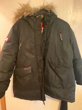 Canada Weathergear Super Triple Goose Big Girls Coat 3xl Faux Fur Hood Zip