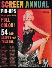 Screen Annual--1955 Pin-ups Monroe cover-----240