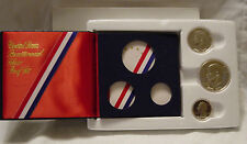 1976-S  BICENTENNIAL SILVER PROOF 3 Piece COMMEMORATIVE SET U.S. Mint w/pkg.
