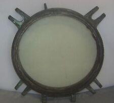 Ship'S Porthole Vintage Original Ship'S Porthole W/ Extremely Thick Glass