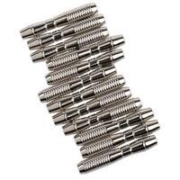 12er Set Metall Barrels Dart Set Softdarts Steeldarts Ersatzfässer für