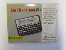 Language Euro Translator MED With 6 Languages 120,000 Words Calculator Function