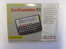 Lengua Euro traductor Med Con 6 lenguas 120,000 palabras Calculadora función