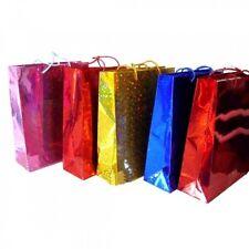 24 Weihnachtstüen Weihnachtstaschen Geschenktüte Metallic Beutel Tüten Taschen