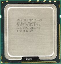 MATCHED PAIR Intel Xeon X5670 2.93GHZ / 6 Core / 12MB CPU