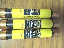 * LOT OF 3 BUSSMAN LPS-RK-9SP  DUAL-ELEMENT FUSES  ...... VE-209