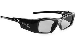 "Hi-SHOCK DLP Pro 7G ""Black Diamond""   DLP Link 3D Brille für DLP 3D Beamer"