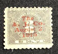 us stamps Scott Rb35 Overprint A. J. Co. August 1915 Lot J