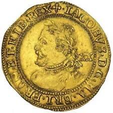 England JAMES I 1624  Gold Laurel S.2638B NGC AU58 Very Scarce Coin
