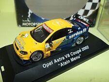 OPEL ASTRA V8 COUPE DTM 2002 A. MENU SCHUCO 1:43