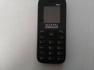 ALCATEL 1013X - BLACK BASIC SIMPLE MOBILE PHONE (UNLOCKED)
