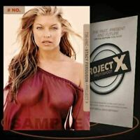 Stacy Ferguson [ # 736-UNC ] PROJECT X Numbered cards / Limited Edition