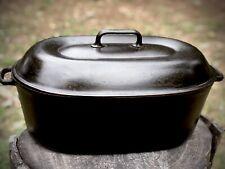 Favorite Piqua Ware Cast Iron Roaster Oval Dutch Oven