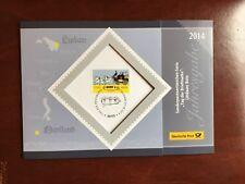 GERMANY BRD FRD FDC CARD 2014 LINDAU LINDAUER MAIL COACH STAMP DAY FREE GIFT