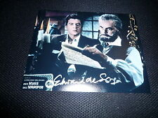 EDWARD DE SOUZA  signed autograph 8x10 (20x25 cm)  In Person KISS OF THE VAMPIRE
