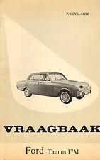 VRAAGBAAK FORD TAUNUS 17M  1961-1964