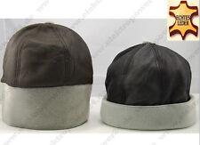 Winter Mütze aus Nappaleder für Damen & Herren Hut/Kappe/Hat/Cap Leder Geschenk