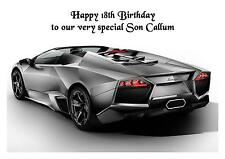 Lamborghini Car A5 Birthday Card Personalised Husband Friend Son Dad Boyfriend