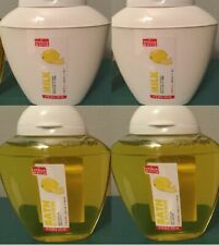 Perlier La Voglia Matta Lemon / Limone 5 oz. Shower Gel x2 and 5 oz Body Milk x2