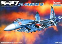 Academy 1:48 Sukhoi S-27 Flanker B Aircraft Model Kit