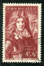 stamp / TIMBRE FRANCE OBLITERE N° 600 / CELEBRITE / COMTE DE TOURVILLE