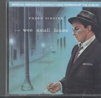 Frank Sinatra - In the Wee Small Hours cd (our ref A52)