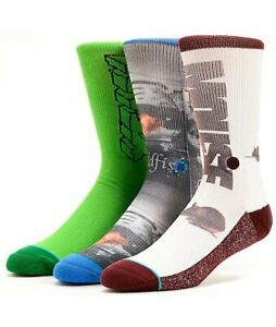 Girl Skateboards x Stance 3 Pack Assorted Socks Mouse Yeah Right Goldfish Films
