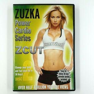 ZUZKA Power Cardio Series ZCUT - Disc 2 Only (DVD, 2012) Fitness RARE