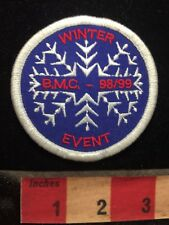 Misc Jacket Patch WINTER BMC EVENT 1998-1999 - Snow Snowflake S70B