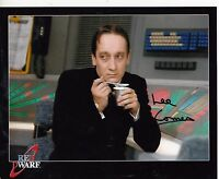 RED DWARF LEE COMES HAND SIGNED 8 x 10 INCH COLOUR PHOTOGRAPH