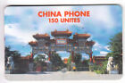 FRANCE TELECARTE / PHONECARD PREPAYEE .. 150U CHINA PH. ASIE ASIA CHINE 04/99