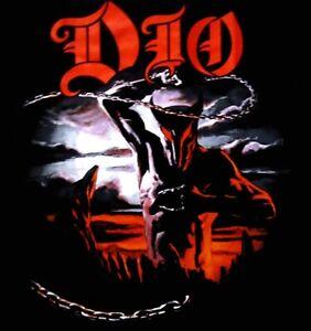 DIO cd cvr HOLY DIVER Official SHIRT XL New black sabbath NBP