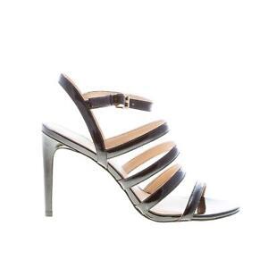 MICHAEL KORS women shoes Nantuket black patent leather sandal